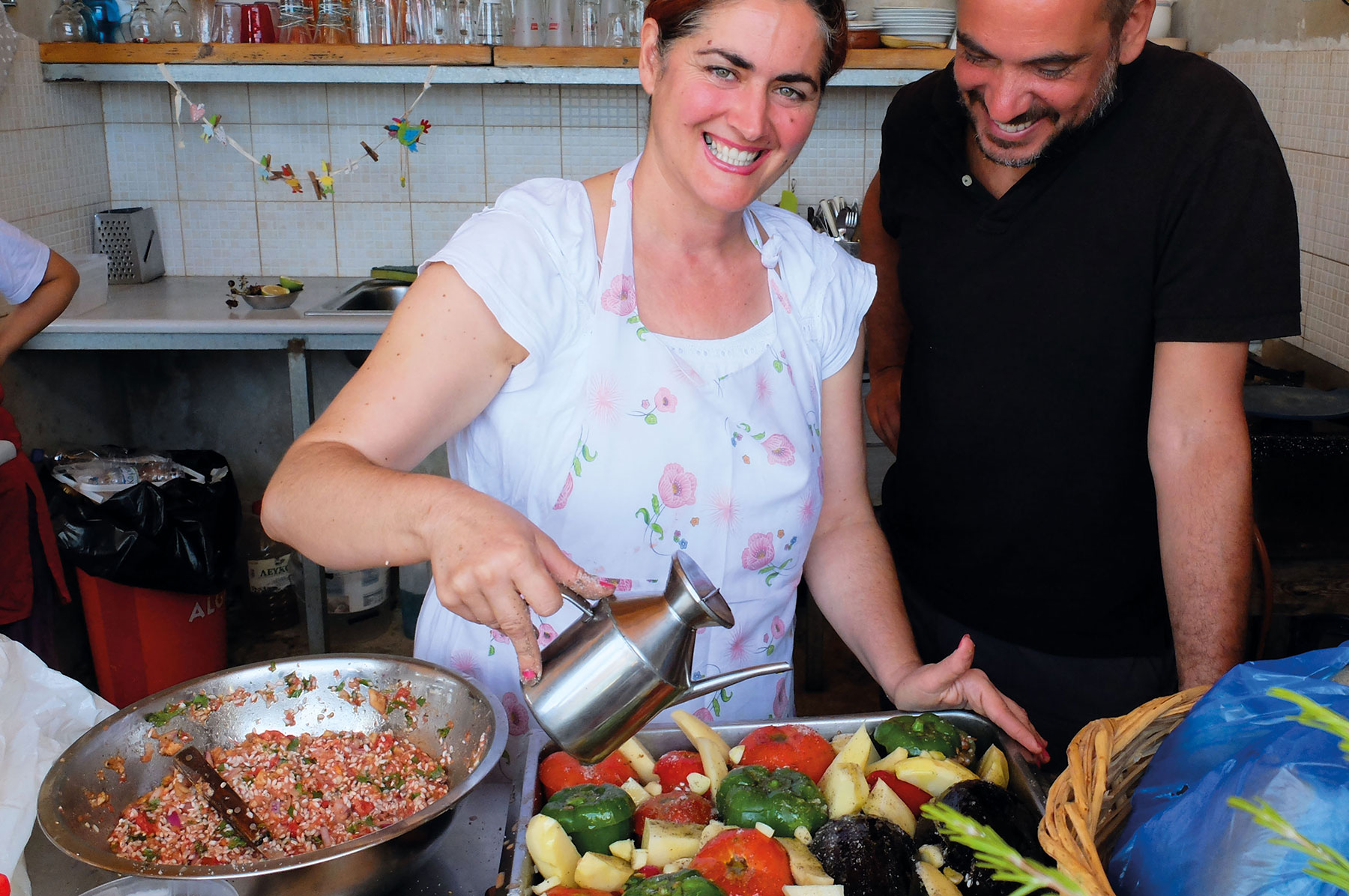 Griechisch sommerakademie griechenland soak for Griechisch kochen