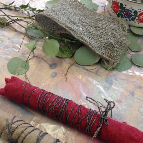 SOAK-Workshop Eco Print mit Sawatou Mouratidou