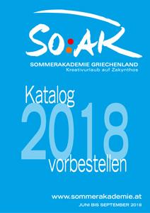 SOAK-Katalog 2018 vorbestellen