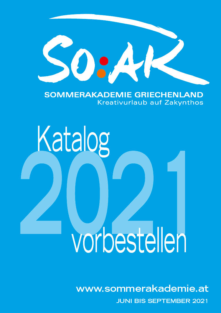SOAK-Katalog 2021 vorbestellen